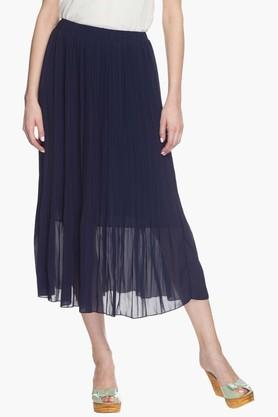 EXCLUSIVE LINES FROM BRANDS Womens Micro-Pleated Skirt