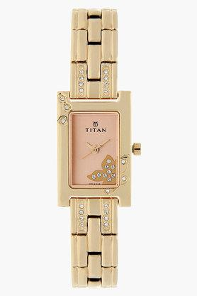 TITAN Womens Rose Gold Analog Watch