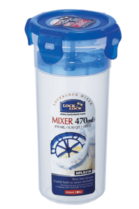 LOCK & LOCK Round Container With Mixer - 470ml