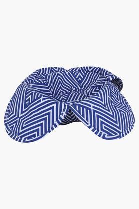 The Mazy Mess 100% Cotton Bread Basket - Blue