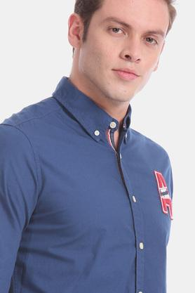AEROPOSTALE - Blue Casual Shirts - 5
