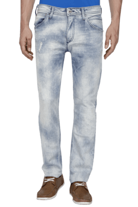 JACK AND JONES Mens 5 Pocket Stretch Jeans - 200763494