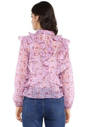 Womens Floral Print Top