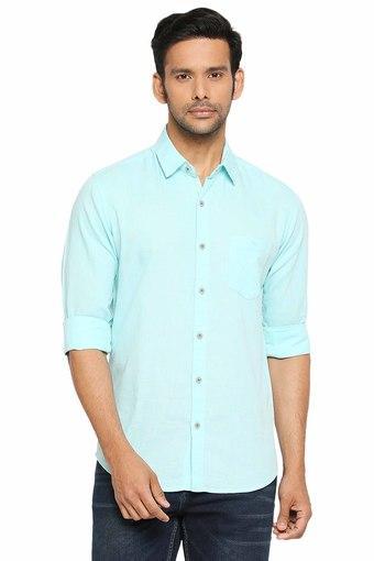 MUFTI -  TurquoiseCasual Shirts - Main