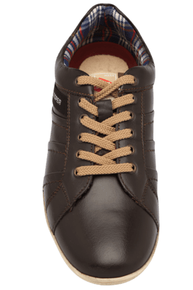 Mens Lace up Leather Casual Shoe