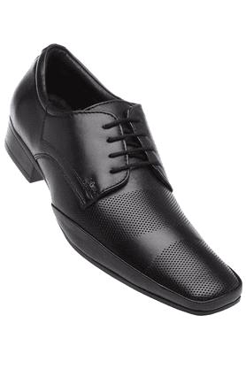 LEE COOPERMens Black Leather Lace Up Formal Shoe