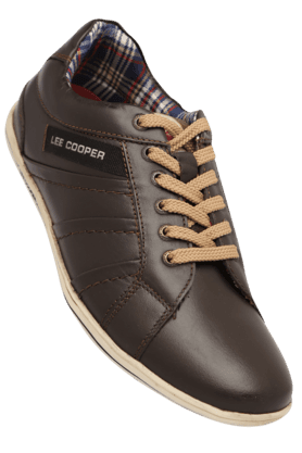 LEE COOPERMens Lace Up Leather Casual Shoe
