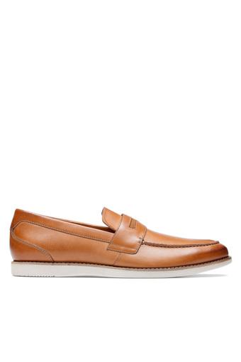 CLARKS -  TanCasuals Shoes - Main