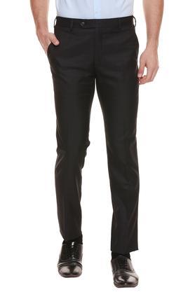RAYMOND - Dark BlueFormal Trousers - Main