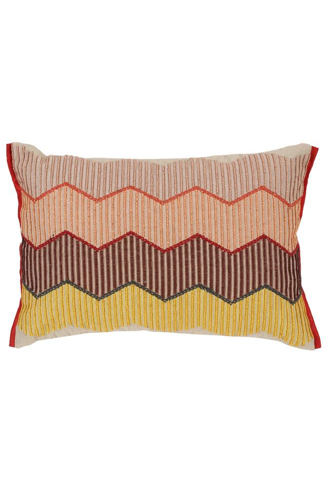 FERN - Red Mix Cushion Cover - Main