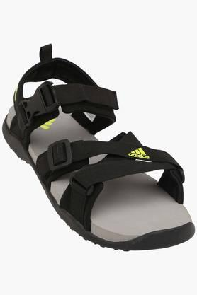 ADIDASMens Synthetic Velcro Closure Sandals - 201915458_9212
