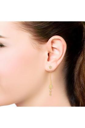Womens Gold Earring STSKYDZE081