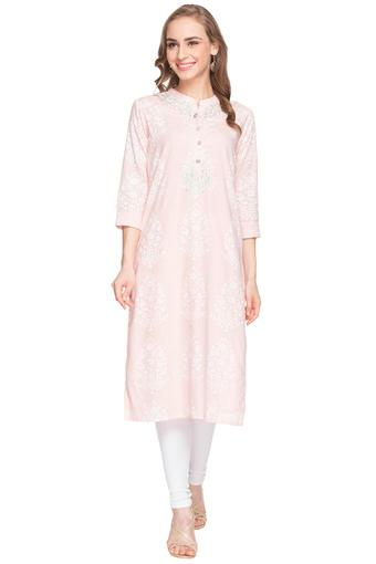 STOP -  Peach Kurtas - Main