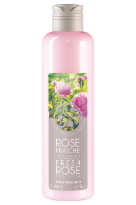 YVES ROCHER Un Matin Au Jardin Fresh Rose Body Lotion 200ML