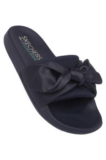 SKECHERS -  NavyFloaters & Flip Flops - Main