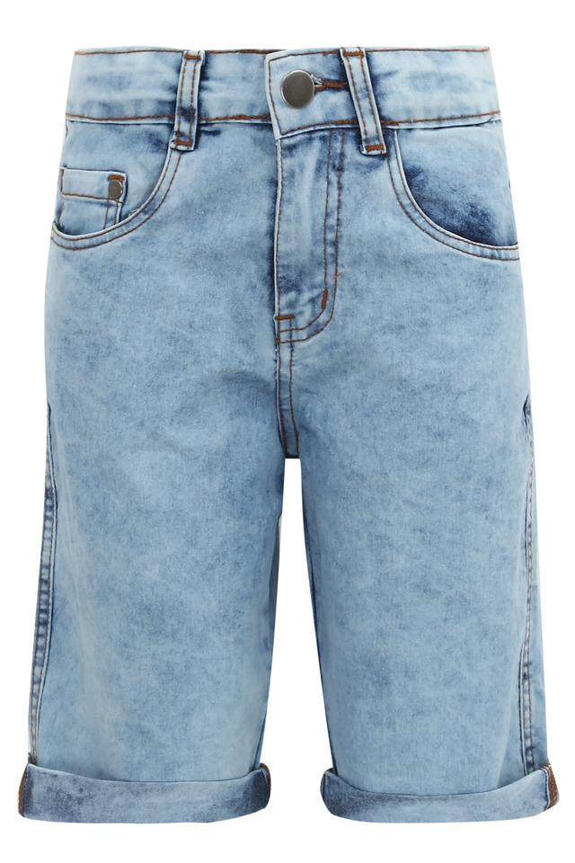 LIFE - Denim Indigo Light Shorts & Dungarees - Main