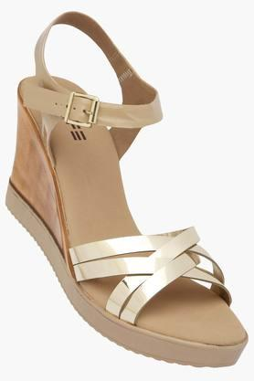 Womens Casual Wear Buckle Closure Wedges - 202358998