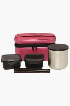 TIGER Lunch Box With Bag - Set Of 3