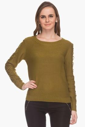 ONLY Womens Basic Knitted Pullover