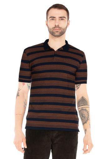 VAN HEUSEN SPORT -  BrownT-shirts - Main