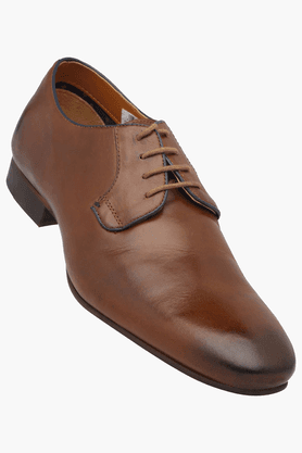 ALLEN SOLLY Mens Lace Up Leather Formal Shoe