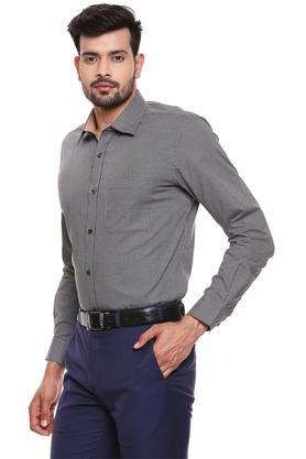 RAYMOND - Dark GreyFormal Shirts - 2