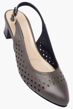 LEMON & PEPPERWomens Casual Wear Buckle Closure Heels
