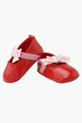 Girls Solid Slip On Shoes (6 - 9 Months)