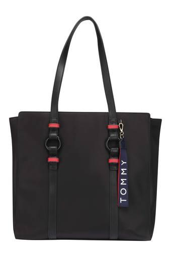 TOMMY HILFIGER -  Black Handbags - Main
