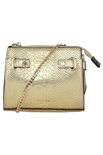 DUNE LONDON -  Gold Wallets & Clutches - Main