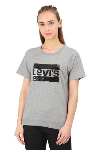 LEVIS -  Grey Tops & Tees - Main