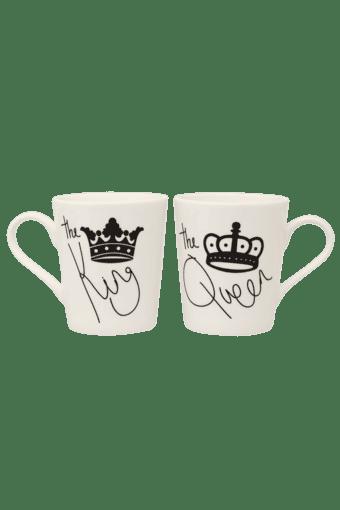 King Queen Mug Set Of 2