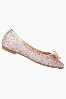 Girls Party Wear Slip On Ballerinas