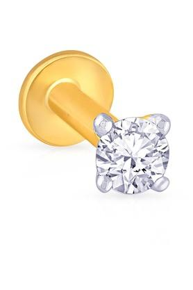 MALABAR GOLD AND DIAMONDSWomens Diamond Nosepin UINSP00117