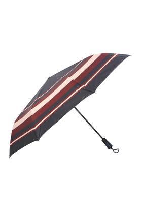 Unisex Stripe 3 Fold Umbrella
