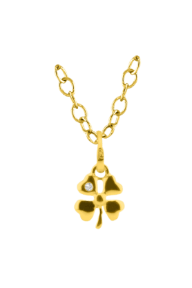 SPARKLESHis & Her Collection 18 Kt Pendant In Gold & Real Diamond HHPXP9133