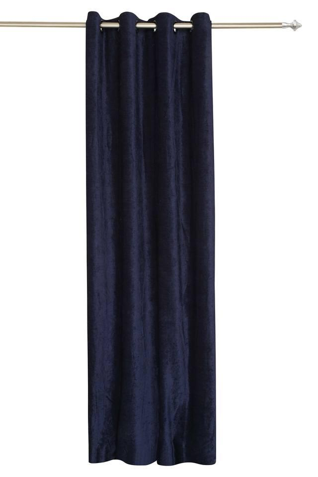 ARIANA - Royal Blue Door Curtains - Main