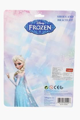 Girls Frozen Princess Shoes and Bracelet Set