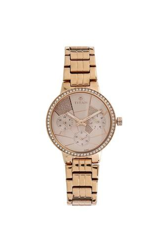 Womens Analogue Metallic Watch - 95058WM02