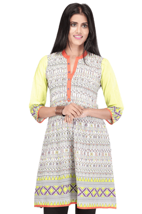 STOP Women Cotton Kurta - 9901221