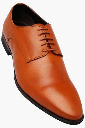 FRANCO LEONE Mens Leather Lace Up Derbys - 202658076