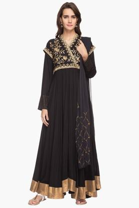 RS BY ROCKY STAR Womens Embroidered Suit