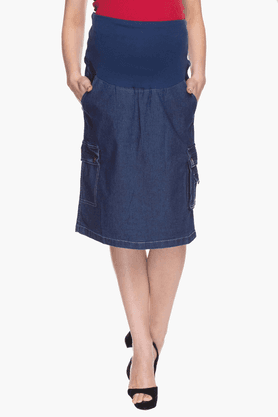 NINE MATERNITYWomens Assorted Straight Skirt