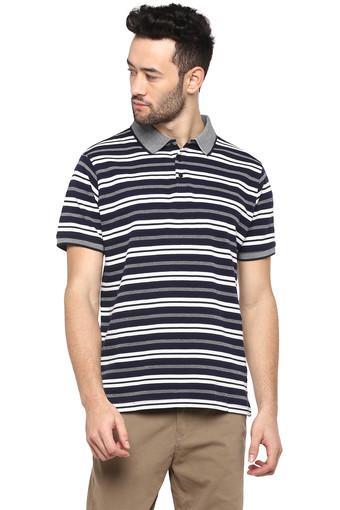 STOP -  NavyT-Shirts & Polos - Main