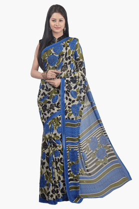 JASHN Womens Printed Saree - 201502445
