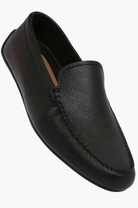CLARKS Mens Leather Slip On Formal Loafers