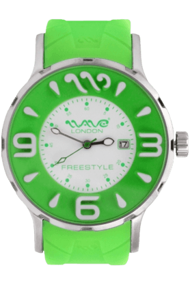 WAVE LONDON Freestyle Green Ladies Watch
