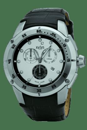 Mens Silver White Dial Watch NE9251SL02