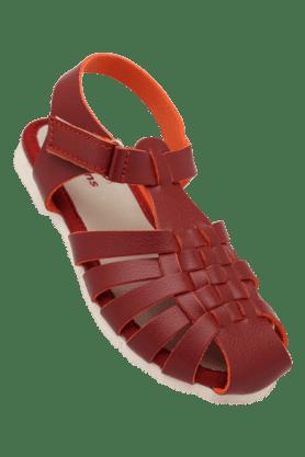 KITTENSGirls Daily Wear Velcro Closure Flat Sandal