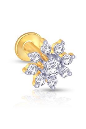MALABAR GOLD AND DIAMONDSWomens Mine Diamond Nosepin NP71055